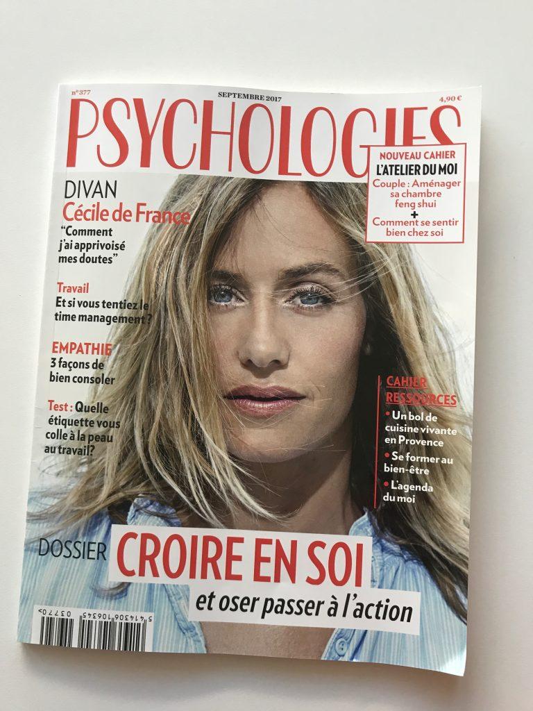 [Presse] Psychologie Magazine – Livres développement personnel